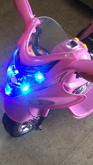 Motorcycle with music and lights for Sale in Nashville, TN