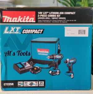 Makita 18-volt lxt compact drill set for Sale in Paramount, CA