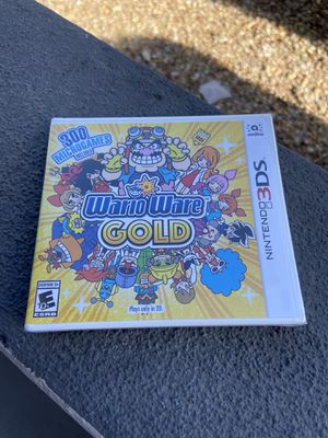 NEW Nintendo 3DS Wario Ware Gold Game for Sale in Chandler, AZ