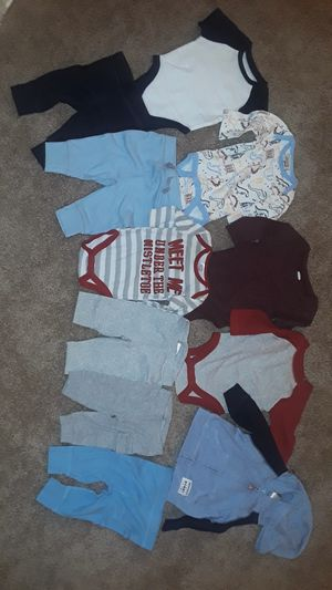 0-3 month baby boy clothes for Sale in Silver Spring, MD