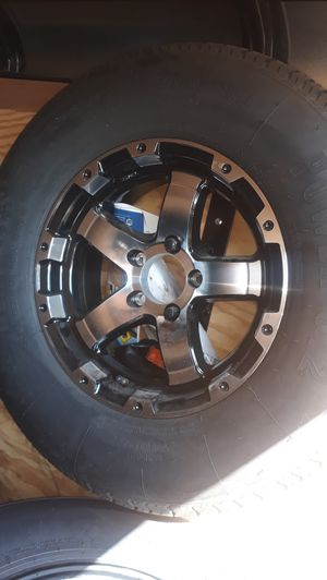 4 new wheels & tires 15 inch trailer st225 75 r15$650 for Sale in Los Angeles, CA