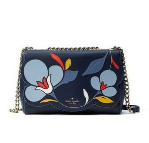 Kate Spade leather floral crossbody bag blue for Sale in Kennewick, WA