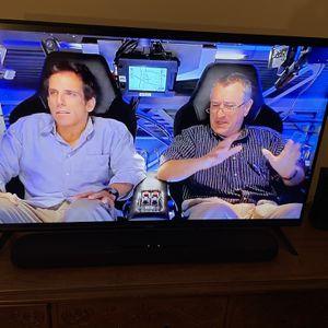 "Vizio 50"" Smart TV & Yahama Sound Bar for Sale in Huntington Beach, CA"