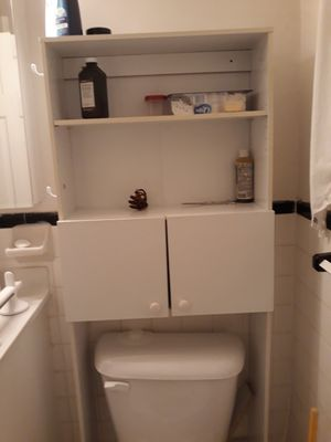 Bathroom Toilet Shelf Storage Organizer with Small door for Sale in Falls Church, VA