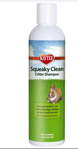 Kaytee Squeaky Clean Critter Small Animal Shampoo Bottle for Sale in Takoma Park, MD