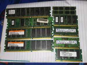 Desktop and laptop RAM lot for Sale in Anniston, AL