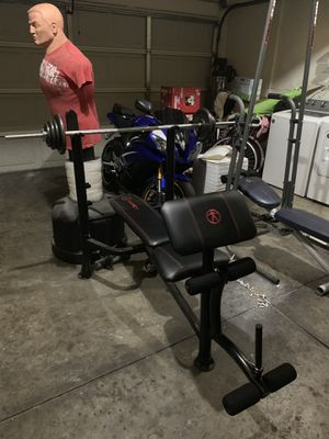 Marcy's bench press and leg for Sale in San Jose, CA