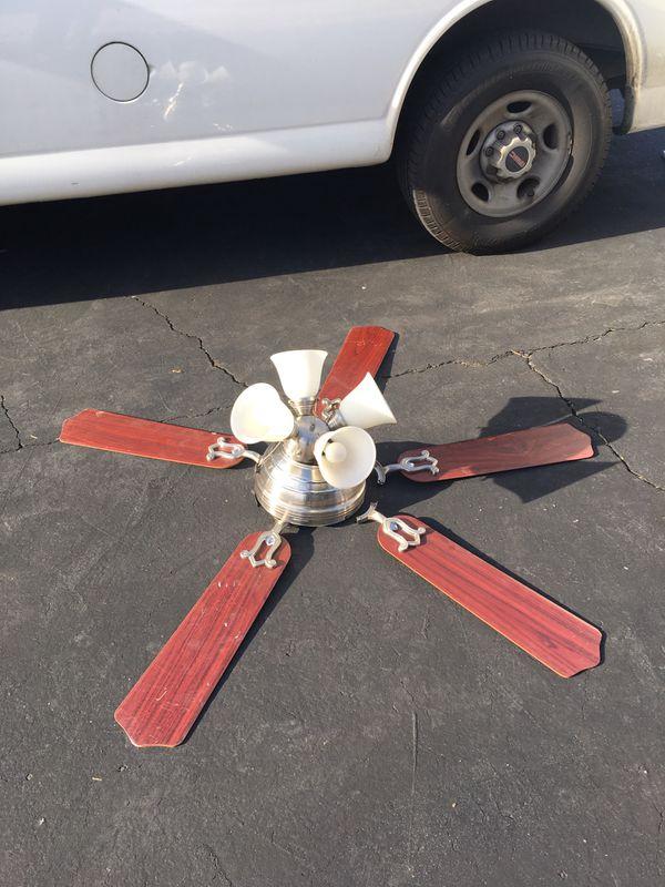 Selling light fixtures fan