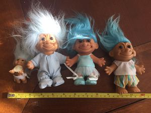 Blue haired Russ trolls baby ballerina WSR benefits charity for Sale in Pahrump, NV