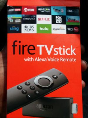 Firestick Amazon with remote for Sale in Grosse Pointe, MI