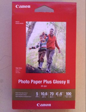 100 sheets of Canon Glossy Photo Paper 4x6 for Sale in MD, US