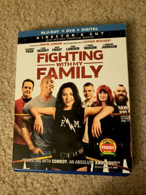 Fighting with my family blu-ray movie the rock for Sale in Grapevine, TX