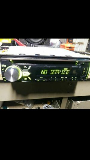 Pioneer DEH-X4900BT CD receiver Bluetooth usb auxiliary loaded for Sale in Indianapolis, IN