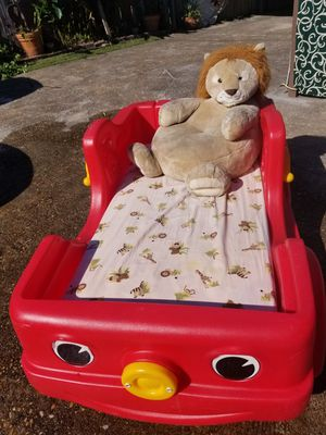 Toddler Firefighter Bed for Sale in Houston, TX