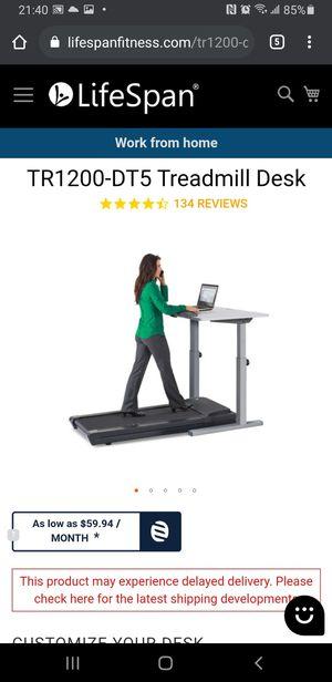 Life Span walking desk/treadmill for Sale in Monroe, WA