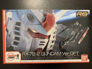 Bandai RG 1/144 RX-78-2 Gundam - Ver.GFT for Sale in Santa Ana, CA