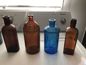 Antique bottles and jars for Sale in Portland, OR