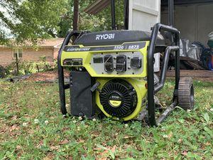 Ryobi 5500 Watt Inverter Generator for Sale in Atlanta, GA
