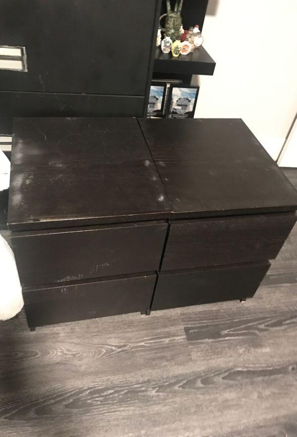 Ikea dresser and nightstands