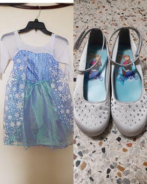 Frozen, Elsa dreess and shoes for Sale in Hialeah, FL