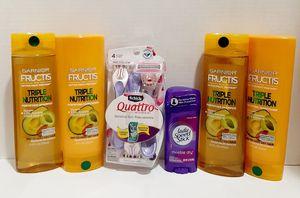 Brand New Garnier Fructis Triple Nutrition Hygiene Care Bundle for Sale in Visalia, CA