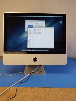 "Apple iMac a1224 2008 20"" c2d 2.66ghz cpu 320gb hdd for Sale in Buffalo Grove, IL"