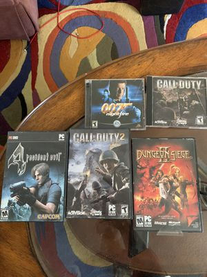 Five computer PC games for Sale in Floral City, FL