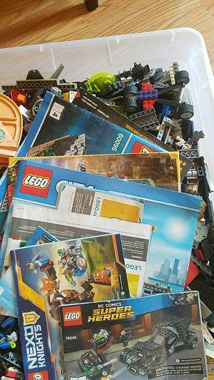 Big box of legos for Sale in Santa Maria, CA