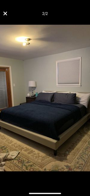 Platform king bed for Sale in Washington, MD