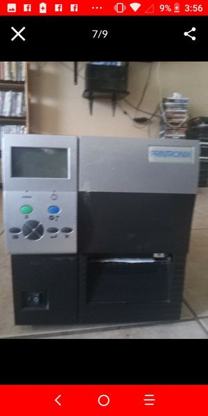 Thermal label and barcode printer for Sale in Dallas, TX
