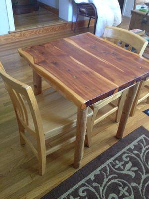 Handmade cedar table for Sale in Austin, TX