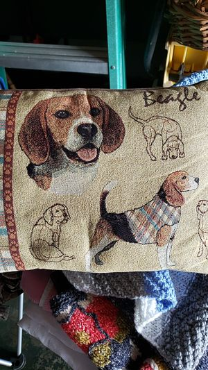 Small Beagle throw pillow for Sale in PT CHARLOTTE, FL