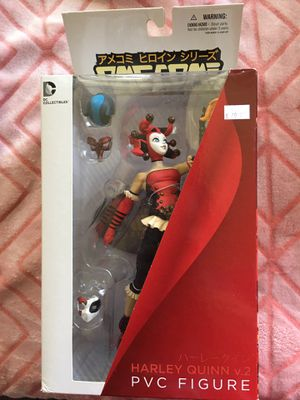 Harley Quinn anime style collectible statue Brand New for Sale in South Fallsburg, NY