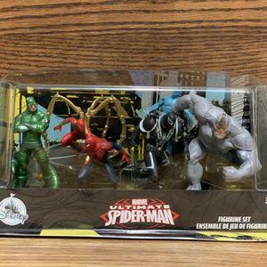 Marvel Ultimate Spider-Man Figurine Set for Sale in Henderson, NV