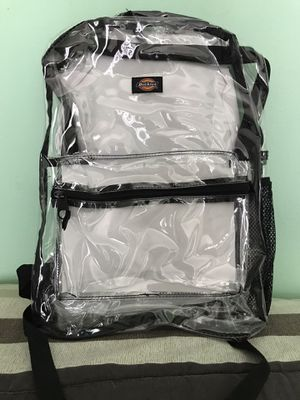 Dixies Student size Backpack (Clear) Brand New for Sale in Palm Springs, FL