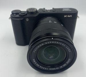 Fujifilm X Series X-M1 16.3MP Digital Camera - Black (Kit w/ XC OIS ii 16-50mm) for Sale in Mukilteo, WA