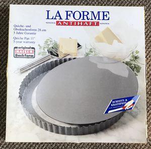 """New Kaiser LaForme 11"""" non-stick quiche pan for Sale in Groton, MA"""