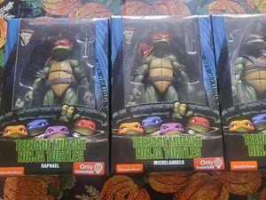 Neca Teenage Mutant Ninja Turtles 1990 movie set Gamestop Exclusive for Sale in Tracy, CA