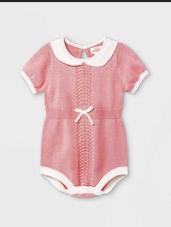 Baby Girl Bubble Sweater Romper for Sale in The Bronx,  NY