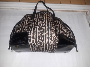 Large leopard COACH tote. for Sale in Dallas, TX