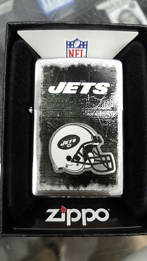 Zippo NFL jets brushed chrome 28212 for Sale in Los Angeles, CA