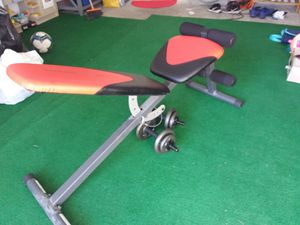 Exercise bench and weights for Sale in FL, US