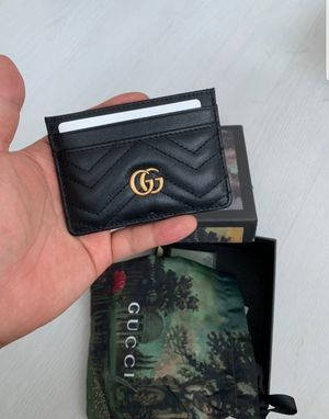 Gucci credit card wallet for Sale in NY, US