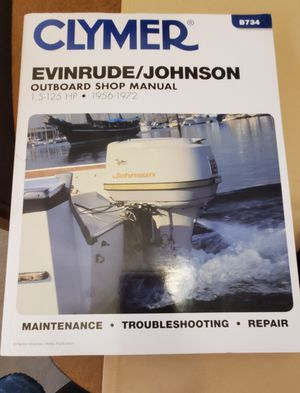 Clymer outboard manual for Sale in Tigard, OR