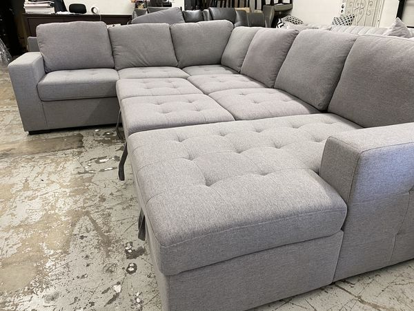 $50 down / New Sleeper Sectional Couch