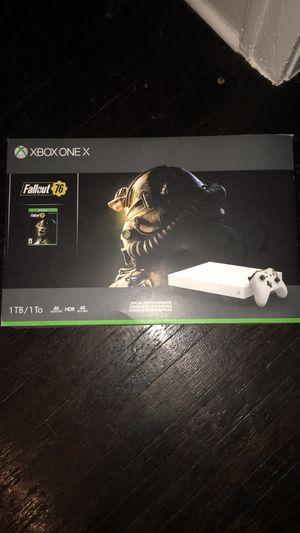 Xbox one x perfect condition for Sale in Wichita, KS
