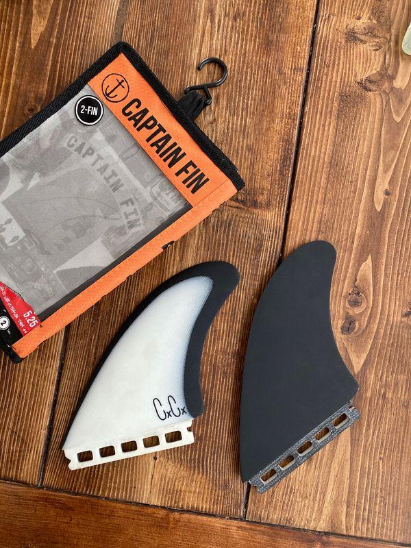 Like New Christenson Twin Fin Surfboard Surf Board