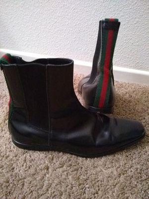 Gucci Men's boots size 8 1/2 for Sale in Brawley, CA