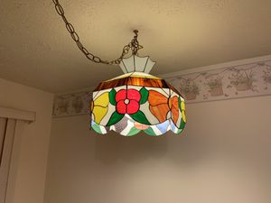 Stain glass chandelier for Sale in Saint Charles, MD
