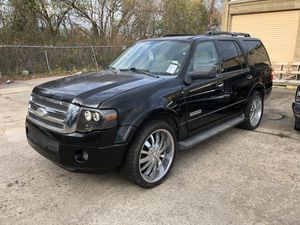 2008 FORD EXPEDITION Limited, 3rd Row Seats for Sale in Houston, TX